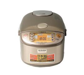 お米の甘さを最大限に引き出す高性能な炊飯器